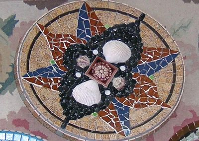 mosaic-birdbath-titled-sea-star