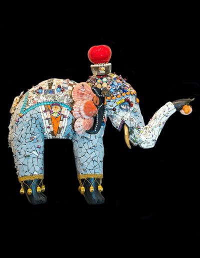 mosaic-elephant-titled-kerala